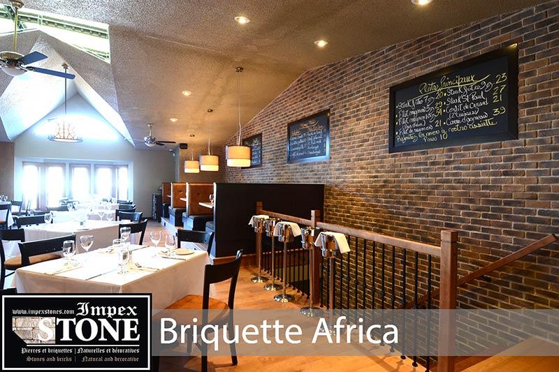 BRIQUETTES AFRICA RESTAURANT
