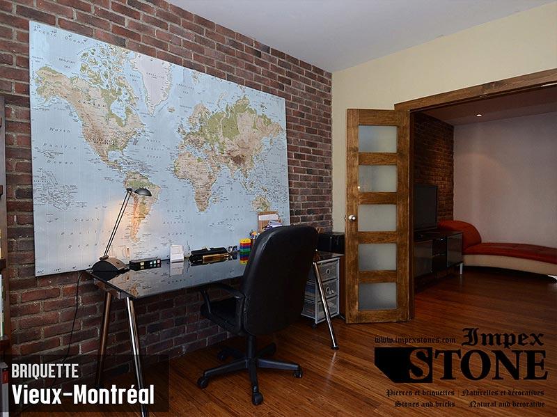 Briquette Vieux-Montréal - Bureau